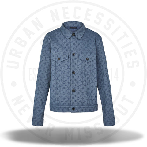 Louis Vuitton Monogram Denim Jacket-Urban Necessities