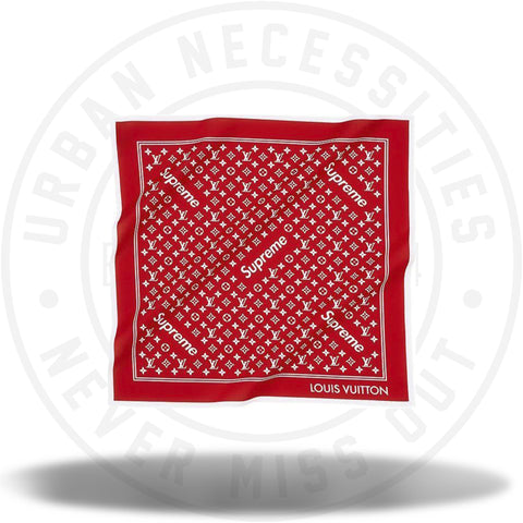 Louis Vuitton Supreme Monogram Bandana-Urban Necessities