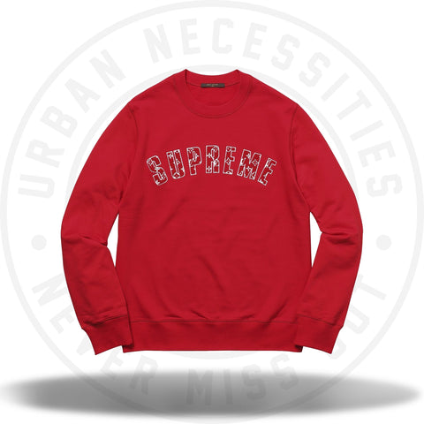 Louis Vuitton x Supreme - Arc Logo Crewneck-Urban Necessities