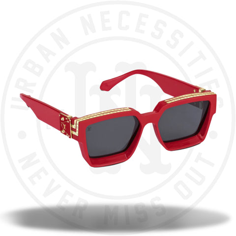 Louis Vuitton x Virgil Abloh 1.1 Millionaires Sunglasses SS19 Red-Urban Necessities