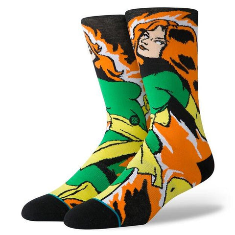 Marvel Socks XMEN Jean Grey-Urban Necessities