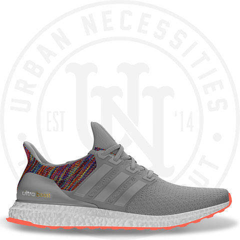 Mi Adidas Ultra Boost 'Rainbow' Grey-Urban Necessities