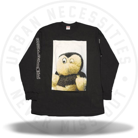 Mike Kelley/Supreme Ahh...Youth! L/S Tee (FW18) Color Black-Urban Necessities