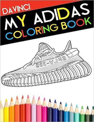 My Adidas Coloring Book-Urban Necessities