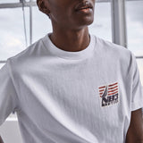 NAUTICA X URBAN NECESSITIES N83 T-SHIRT 'WHITE' - K03601-Urban Necessities