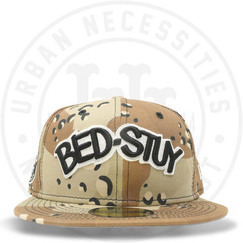 "New Era 59FIFTY - Brooklyn Nets ""Bed-Stuy"" Camo-Urban Necessities"