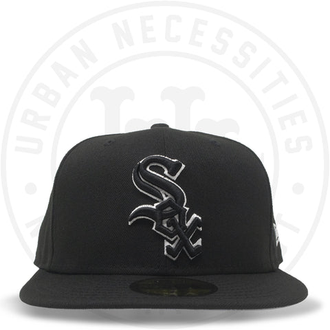 New Era 59FIFTY - Chicago White Sox Black/White-Urban Necessities