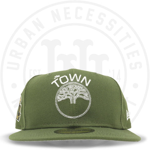 "New Era 59FIFTY - Golden State Warriors ""The Town"" Olive-Urban Necessities"