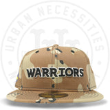 "New Era 59FIFTY - Golden State Warriors ""Warriors"" Camo-Urban Necessities"