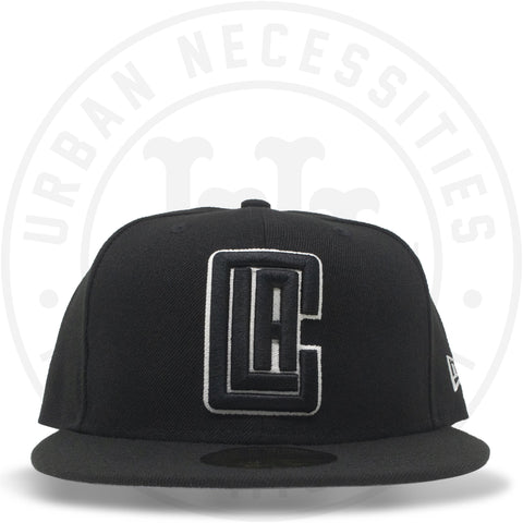 New Era 59FIFTY - Los Angeles Clippers Black/White-Urban Necessities