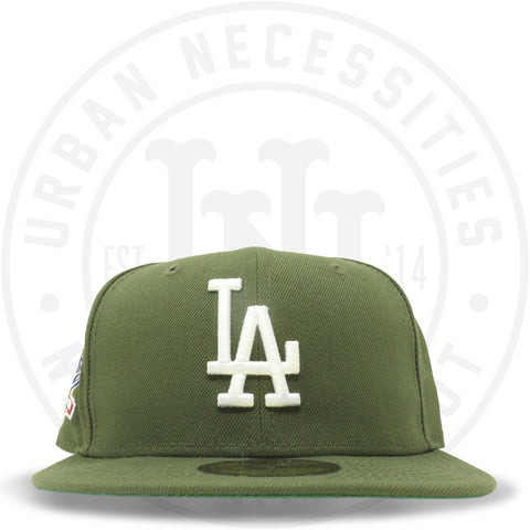 "New Era 59FIFTY - Los Angeles Dodgers ""100th Anniversary"" Olive-Urban Necessities"