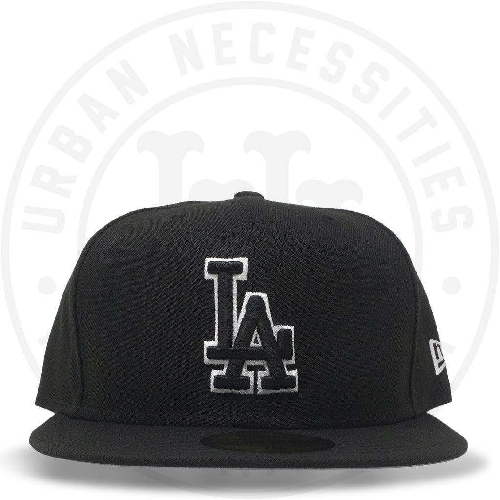 New Era 59FIFTY - Los Angeles Dodgers Black/White-Urban Necessities