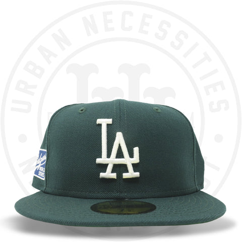 "New Era 59FIFTY - Los Angeles Dodgers ""World Series"" Dark Green-Urban Necessities"