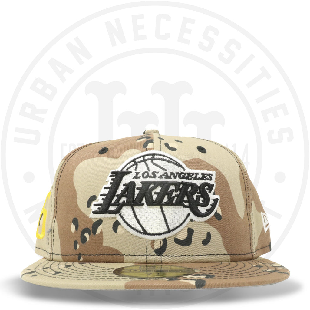 "New Era 59FIFTY - Los Angeles Lakers ""16"" Camo-Urban Necessities"