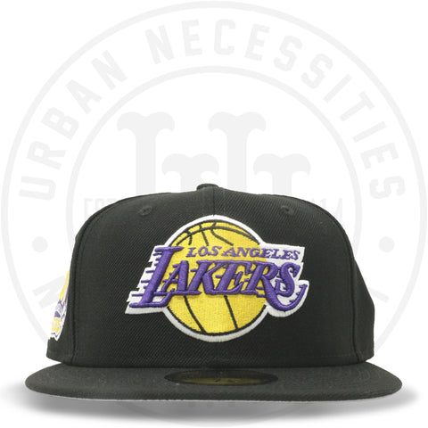 "New Era 59FIFTY - Los Angeles Lakers ""60th Anniversary"" Black-Urban Necessities"