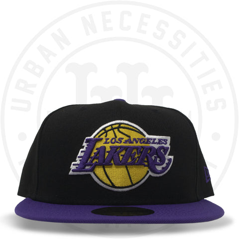 New Era 59FIFTY - Los Angeles Lakers Black/Purple-Urban Necessities