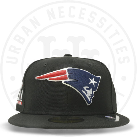 "New Era 59FIFTY - New England Patriots ""Super Bowl LI"" Black-Urban Necessities"