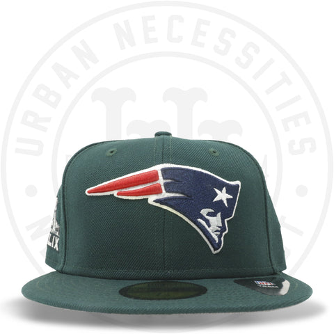 "New Era 59FIFTY - New England Patriots ""Super Bowl XLIX"" Dark Green-Urban Necessities"