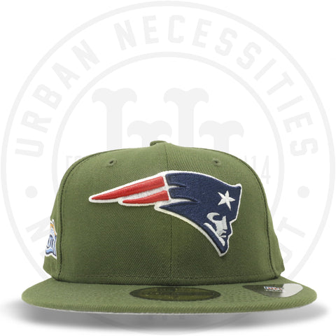 "New Era 59FIFTY - New England Patriots ""Super Bowl XXXIX"" Olive-Urban Necessities"