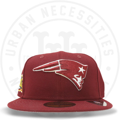 "New Era 59FIFTY - New England Patriots ""Super Bowl XXXVIII"" Cardinal Red-Urban Necessities"