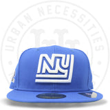 "New Era 59FIFTY - New York Giants ""Helmet"" Blue Azure-Urban Necessities"