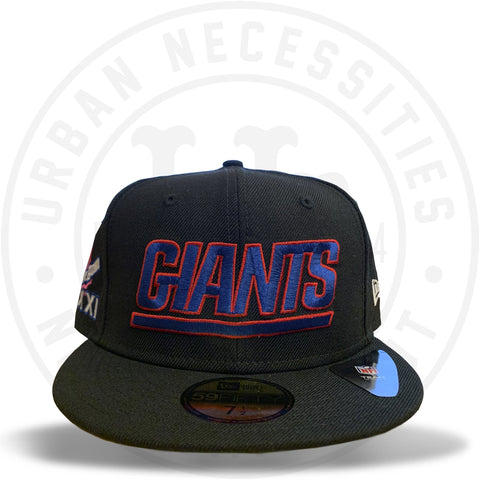 "New Era 59FIFTY - New York Giants ""Super Bowl 21"" Black-Urban Necessities"