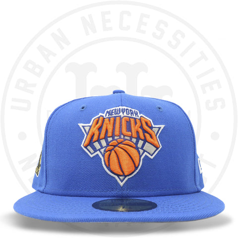 "New Era 59FIFTY - New York Knicks ""Championship"" Blue Azure-Urban Necessities"