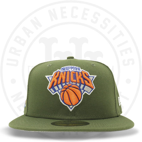 "New Era 59FIFTY - New York Knicks ""Eastern"" Olive-Urban Necessities"