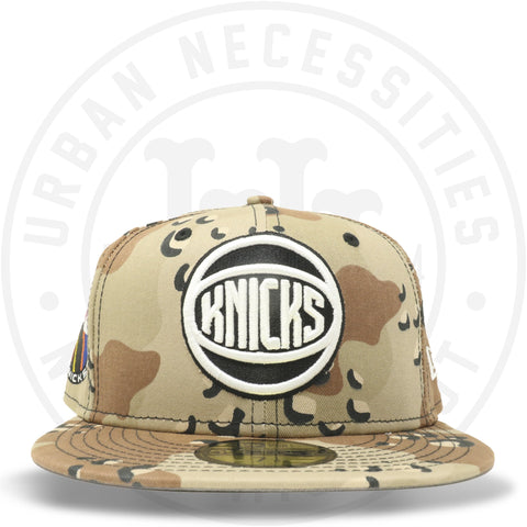 "New Era 59FIFTY - New York Knicks ""EST 1946"" Camo-Urban Necessities"