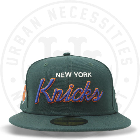 "New Era 59FIFTY - New York Knicks ""Knicks"" Dark Green-Urban Necessities"