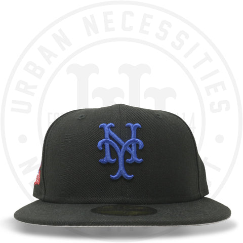 "New Era 59FIFTY - New York Mets ""1986 World Series"" Black-Urban Necessities"