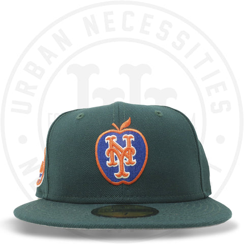 "New Era 59FIFTY - New York Mets ""Apple"" Dark Green-Urban Necessities"