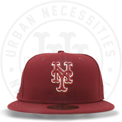 "New Era 59FIFTY - New York Mets ""EST 1962"" Cardinal Red-Urban Necessities"