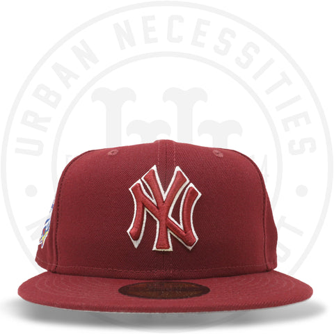 "New Era 59FIFTY - New York Yankees ""1998 World Series"" Cardinal Red-Urban Necessities"