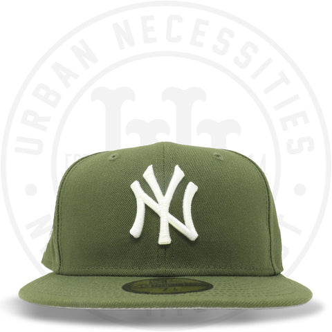 "New Era 59FIFTY - New York Yankees ""2000 World Series"" Olive-Urban Necessities"