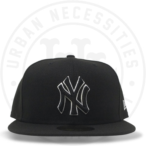 New Era 59FIFTY - New York Yankees Black/White-Urban Necessities