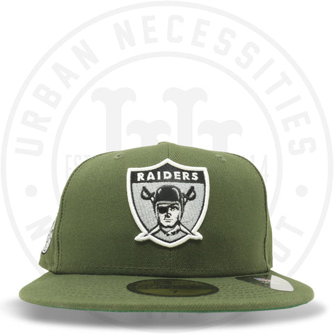 "New Era 59FIFTY - Oakland Raiders ""EST 1960"" Olive-Urban Necessities"