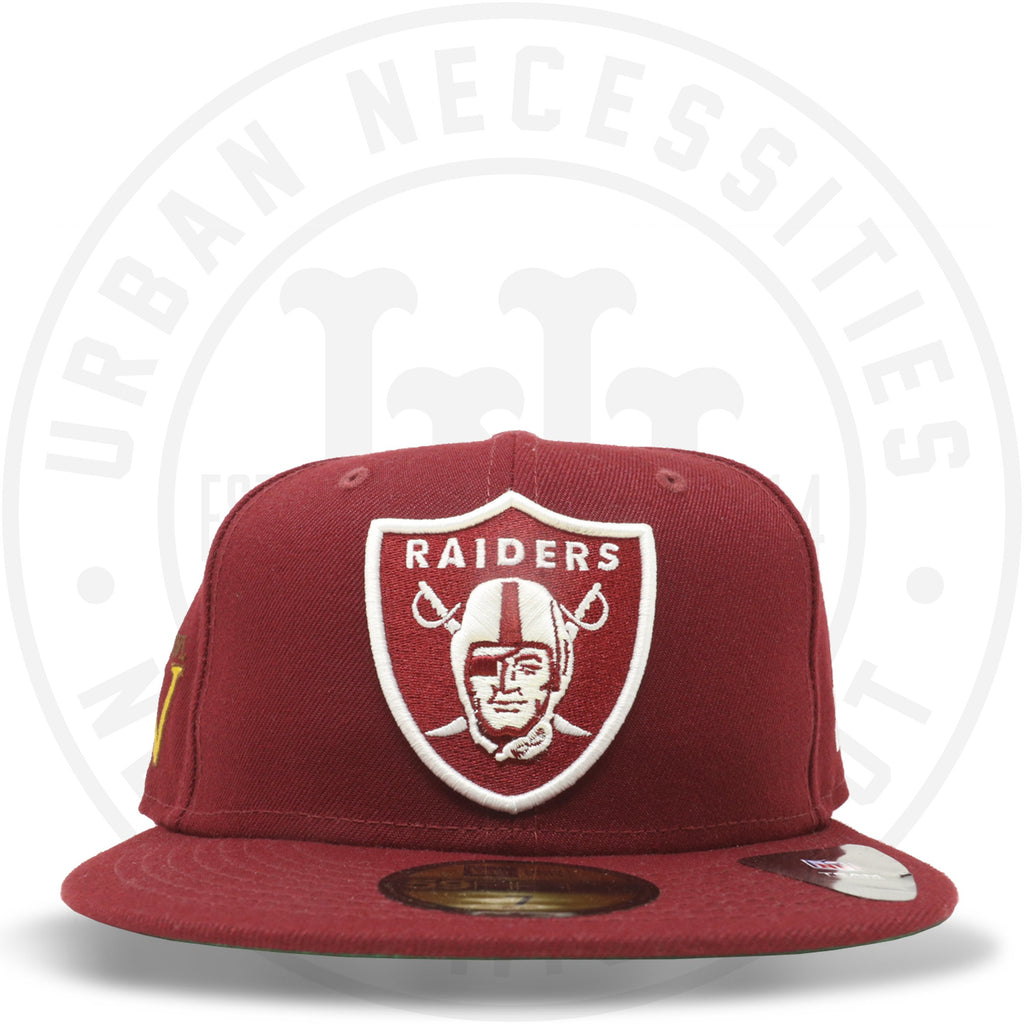 "New Era 59FIFTY - Oakland Raiders ""Super Bowl XV"" Cardinal Red-Urban Necessities"
