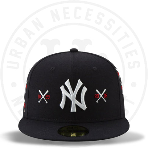 New Era 59FIFTY - Spike Lee x New York Yankees Championship Crossed Bat-Urban Necessities