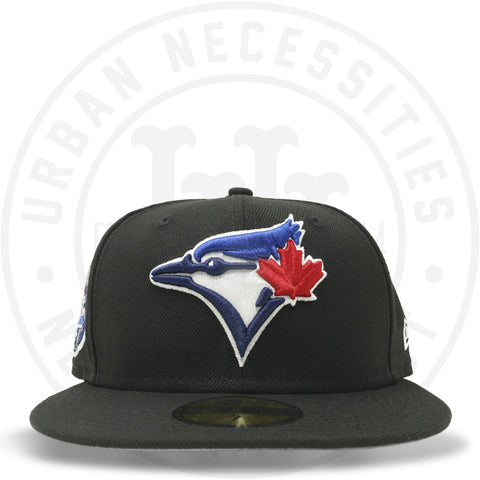 "New Era 59FIFTY - Toronto Blue Jays ""30th Season"" Black-Urban Necessities"