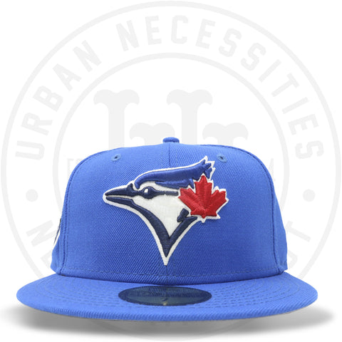 "New Era 59FIFTY - Toronto Blue Jays ""30th Season"" Blue Azure-Urban Necessities"