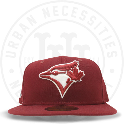 "New Era 59FIFTY - Toronto Blue Jays ""30th Season"" Cardinal Red-Urban Necessities"