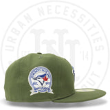 "New Era 59FIFTY - Toronto Blue Jays ""40th Season"" Olive-Urban Necessities"