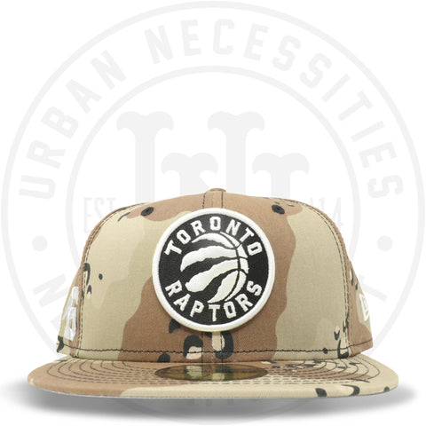 "New Era 59FIFTY - Toronto Raptors ""416"" Camo-Urban Necessities"