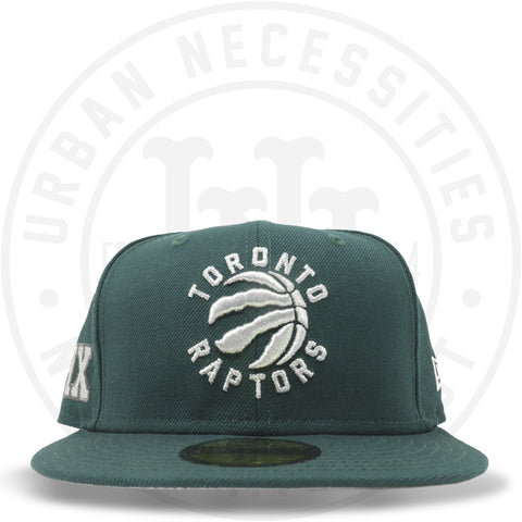 "New Era 59FIFTY - Toronto Raptors ""6ix"" Dark Green-Urban Necessities"