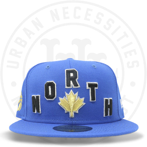 "New Era 59FIFTY - Toronto Raptors ""North"" Blue Azure-Urban Necessities"