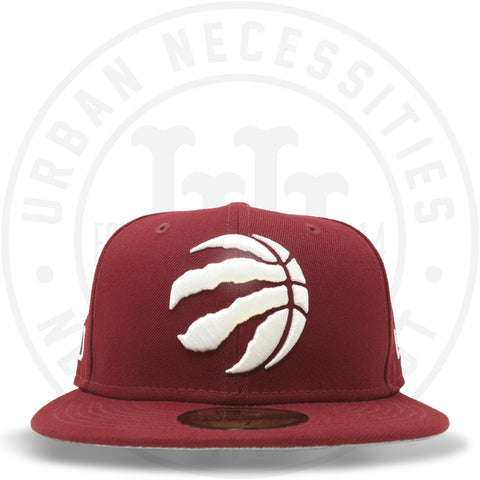 "New Era 59FIFTY - Toronto Raptors ""TO"" Cardinal Red-Urban Necessities"