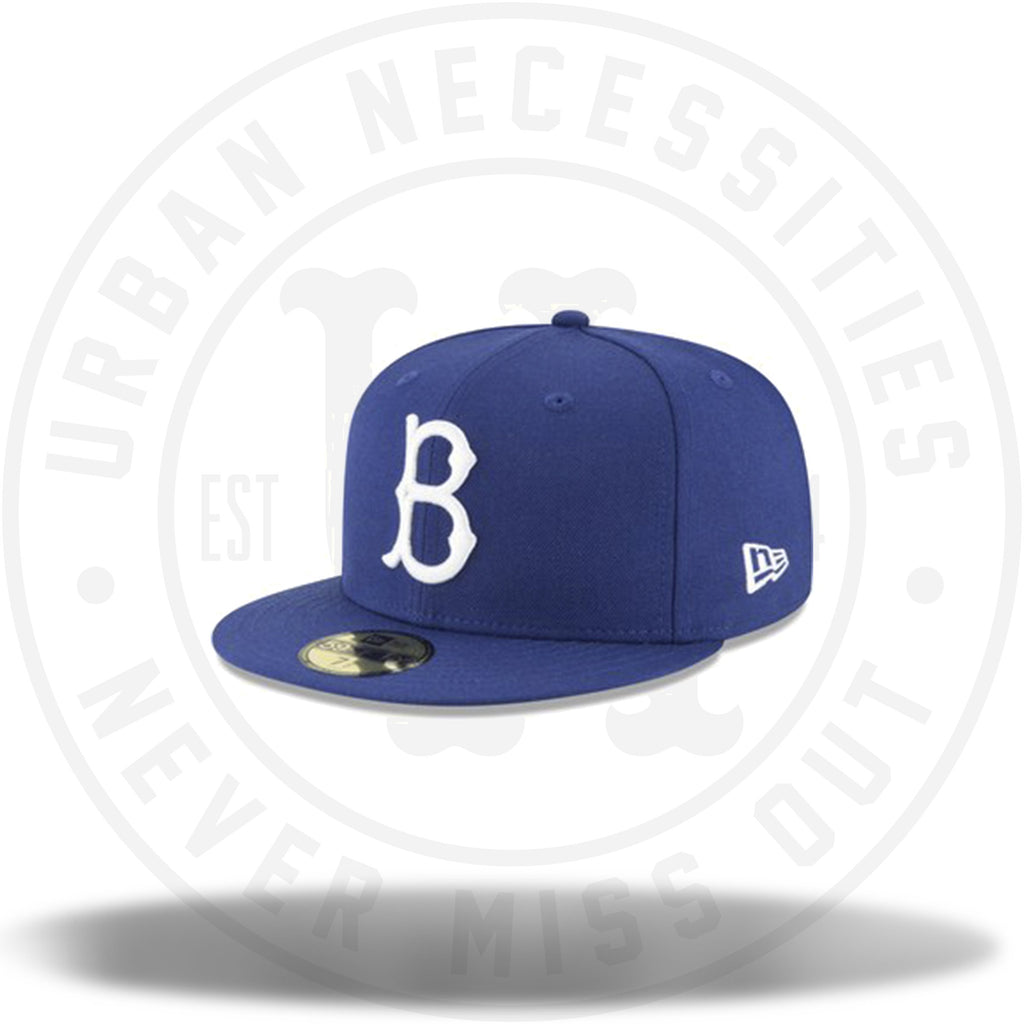 New Era Brooklyn Dodgers MLB Royal Cooperstown Collection Wool-Urban Necessities