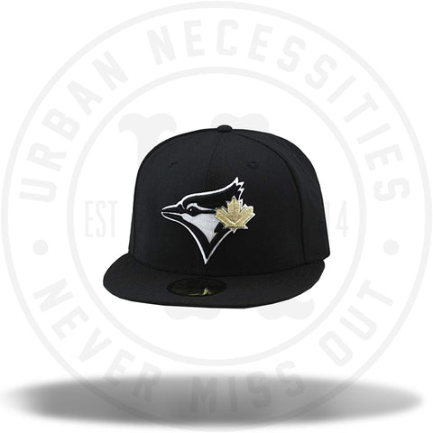 New Era MLB Toronto Blue Jays Black/Gold Fitted 59Fifty-Urban Necessities