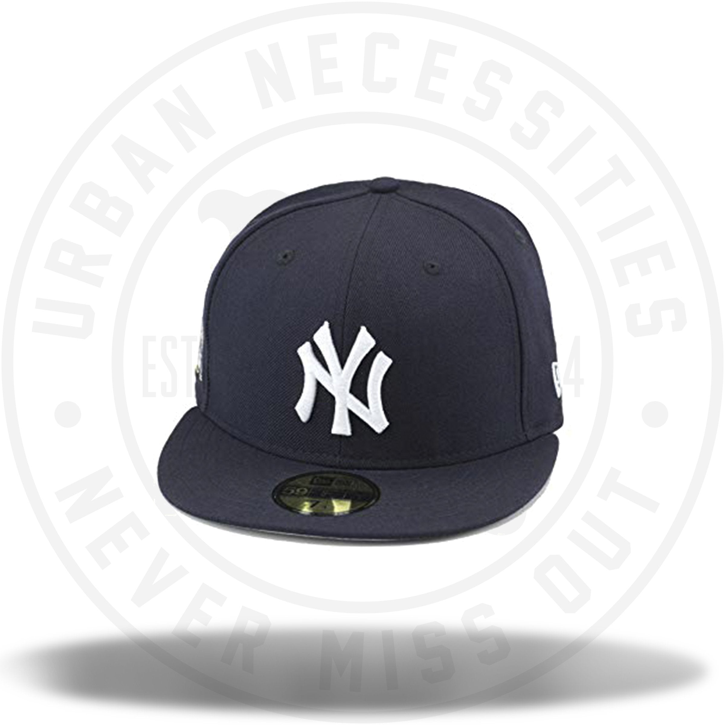 9a405bf11 New Era Yankees MLB Fitted Hat Cap 27 World Series Championships  Patch-Urban Necessities